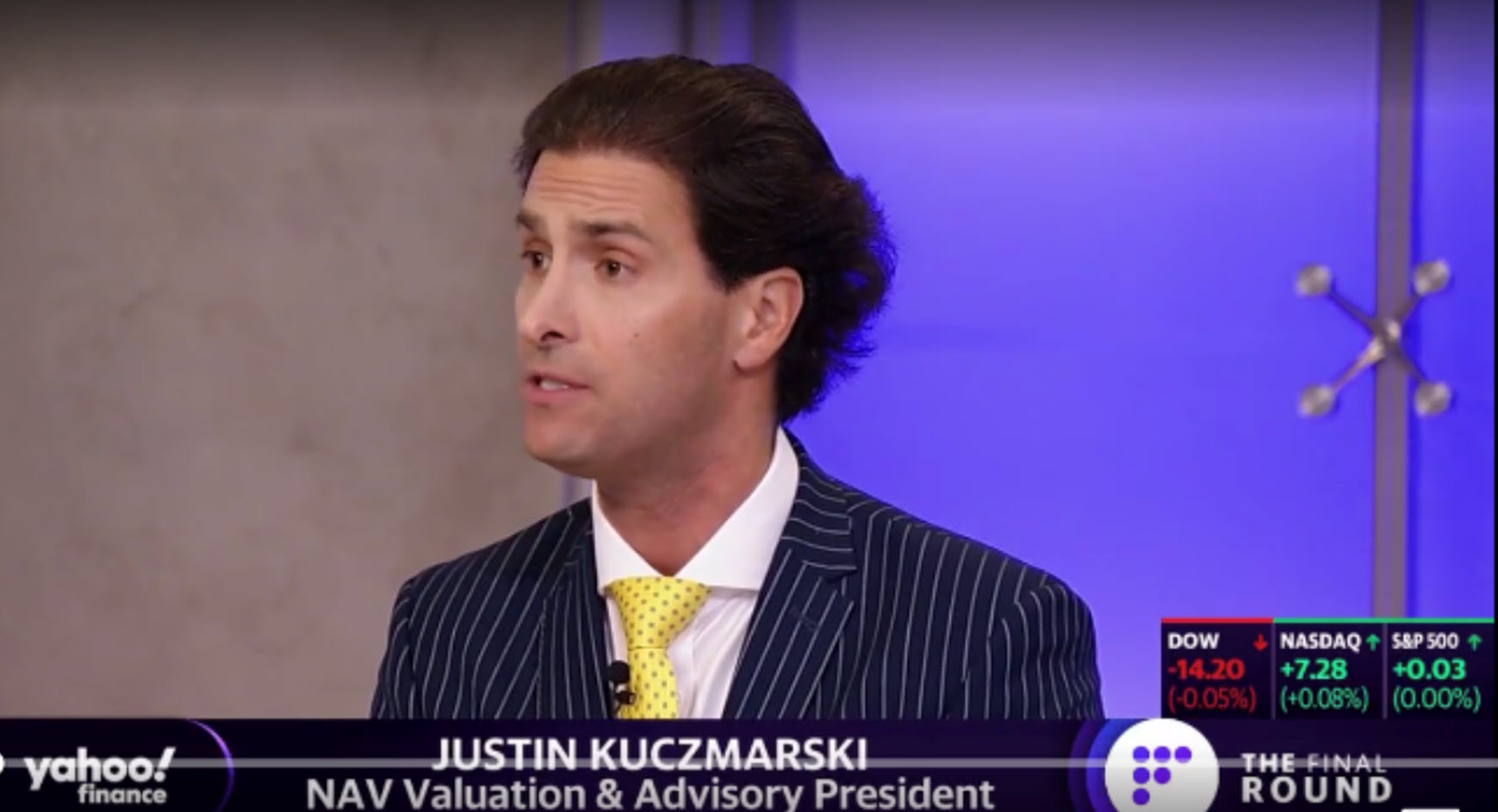 Justin Kuczmarski MBA CPA CVA Reflects on 2020 Stock Market Outlook on TD Ameritrade Network